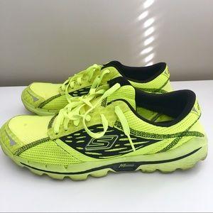 Skechers Go Run 2 Neon Lime & Black Running Shoe